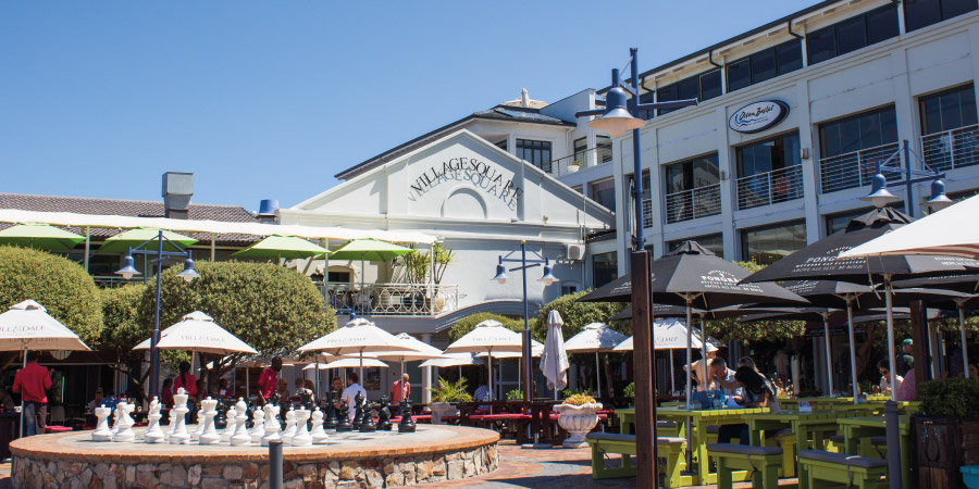village square hermanus