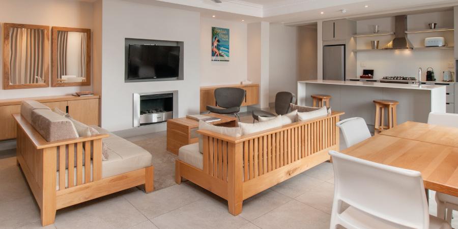 village square apartments living room